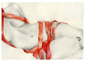 Red Ribbon by VanessaWeuffel