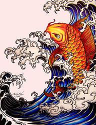 A fish by Luumanfoo29