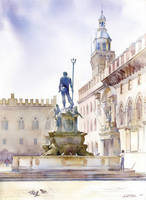 Piazza del Nettuno by GreeGW