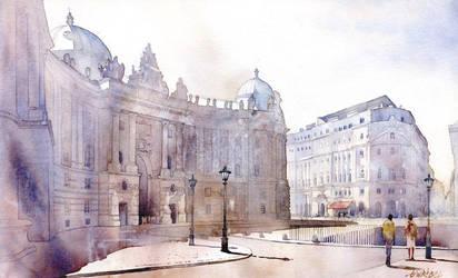 Michaeler Platz by GreeGW