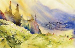 Landscape 01 by GreeGW