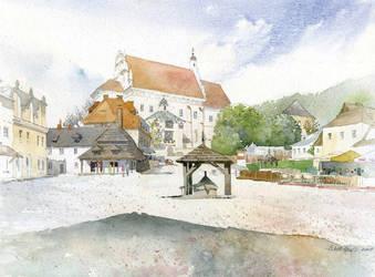 Kazimerz Dolny 01 by GreeGW