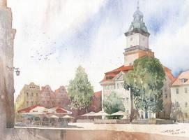Town Hall in Jelenia Gora by GreeGW