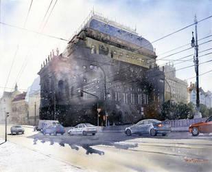 Theater in Prag by GreeGW