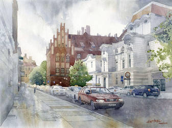 Torun - Fosa Staromiejska by GreeGW