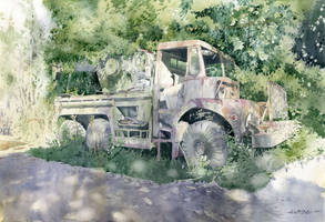 Old truck by GreeGW