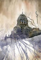 Orthodox church by GreeGW