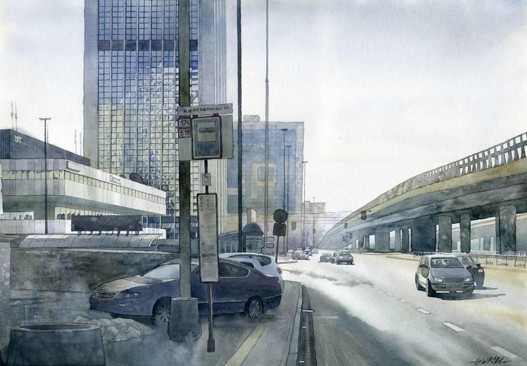 Warsaw streets by GreeGW