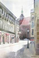 Kalisz Franciscans' church by GreeGW