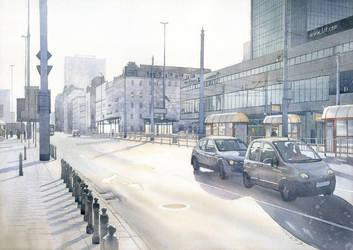 Warsaw morning light by GreeGW