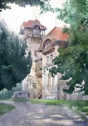 Juencke House by GreeGW