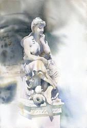 Stone lady by GreeGW