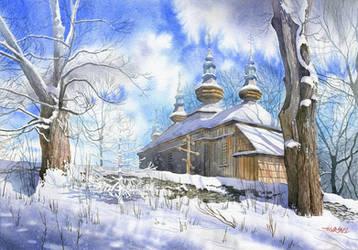 Cerkiew w Komanczy by GreeGW