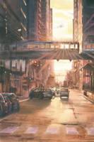 City lights by GreeGW