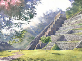 Palenque by GreeGW