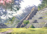 Palenque by GreeGW