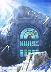 House-O-Mountain 2 by GreeGW