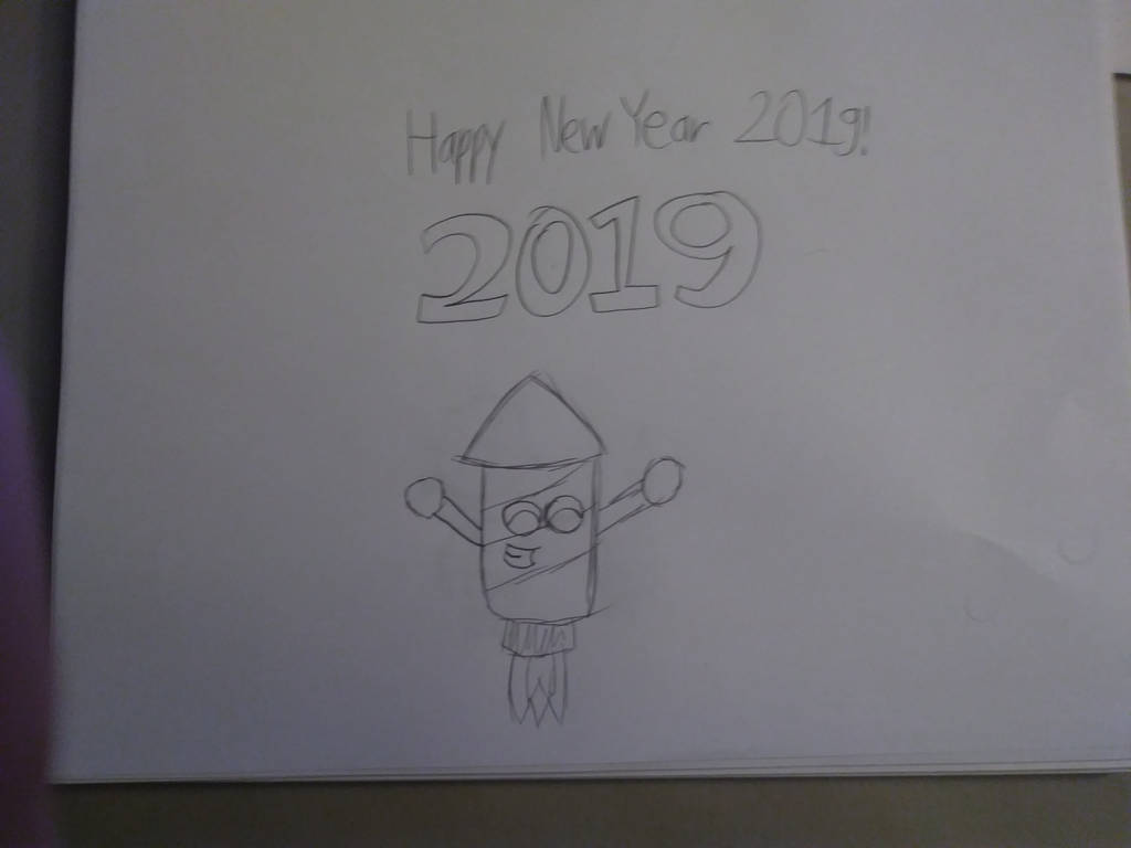 Happy New Year 2019 by Vincent-Rocchio