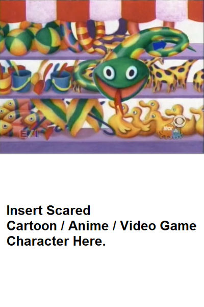 Who got scared by the Green Snake Meme Template by Vincent-Rocchio