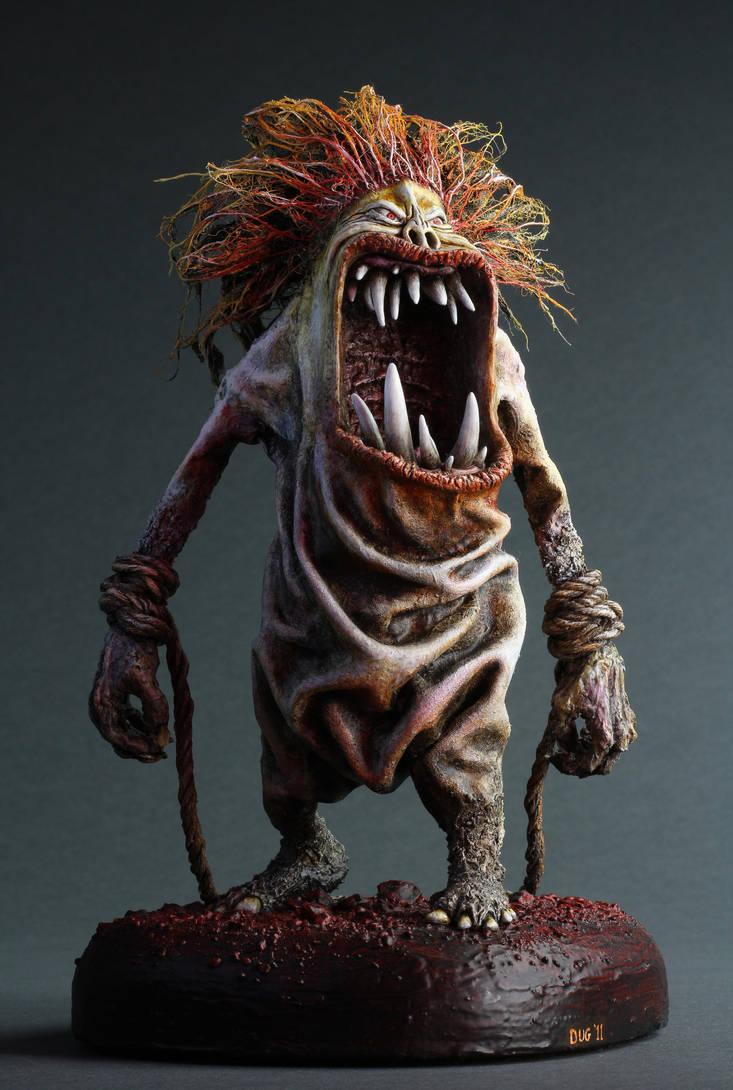 Red Hair Troll by DugStanat