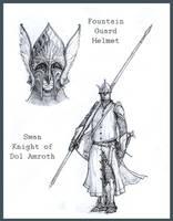 Gondor knights by Merlkir