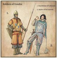 Protectors of Gondor by Merlkir