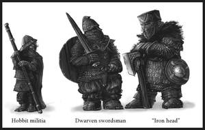 Dwarven units by Merlkir