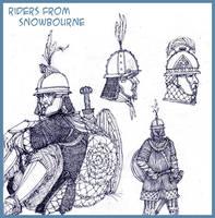 Snowbourne Riders by Merlkir
