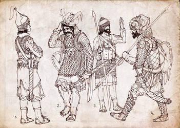 Archaic Cavalry by Merlkir