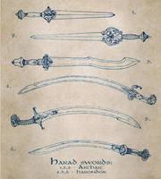 Harad swords by Merlkir