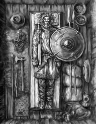 Cthulhu: Saxon Burial by Merlkir