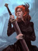 Catelyn Stark v.2 by Merlkir