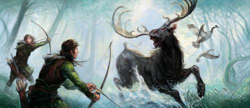 Hunting in Mirkwood by Merlkir