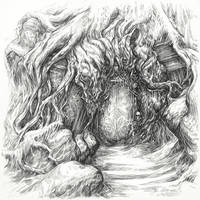Hobbit Tales: Secret Door by Merlkir
