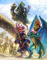 GtG: 09 - Dragonewts by Merlkir