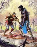 13thAG: Humakti Duel by Merlkir