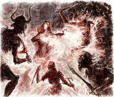 Tales of Tamriel: Draugr of Doomcrag by Merlkir