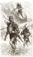 Tales of Tamriel: Valenwood by Merlkir