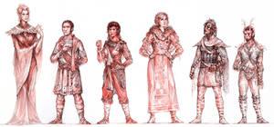 Tales of Tamriel: Races 02 by Merlkir