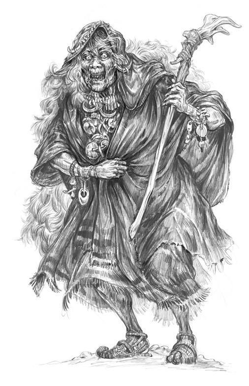 TOR: Barrow Woman by Merlkir