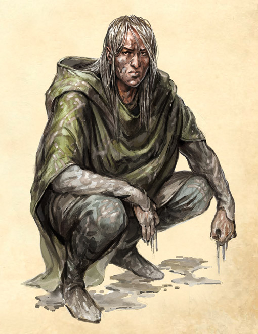 TOR: Mud Elf by Merlkir