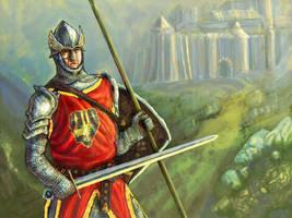 Human Warrior by Merlkir