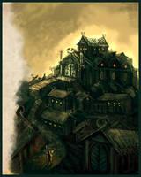 Edoras by Merlkir