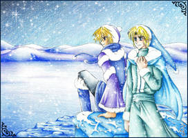 Link Sheik: Precious Moments by Fenrisfang