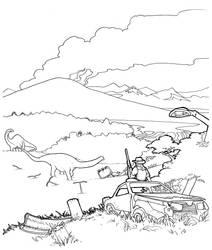 Xenozoic Landscape by spohniscool