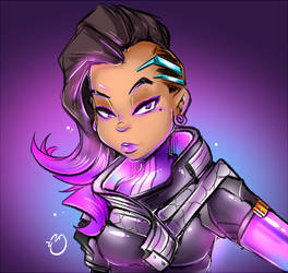 OW-Sombra by DuckDraw
