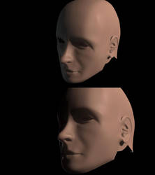 Maya 3D Face by Jinshin