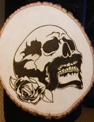 :( Skull by sevasuno