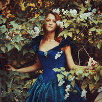 Lady of the Flowers by MariannaInsomnia