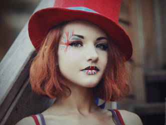 Lady Union Jack by MariannaInsomnia